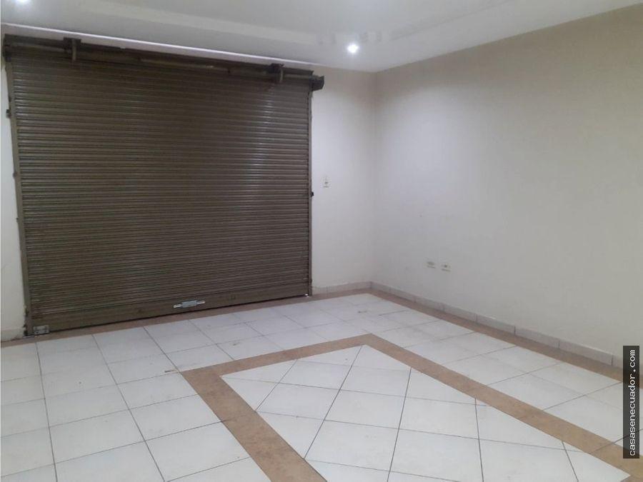 vendo casa amplia y local comercial sector indurama 146000 neg