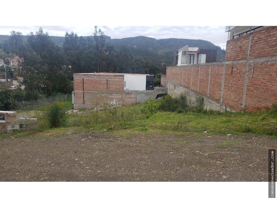 vendo sitio en colinas de chaullabamba 187 mts precio 60000 neg