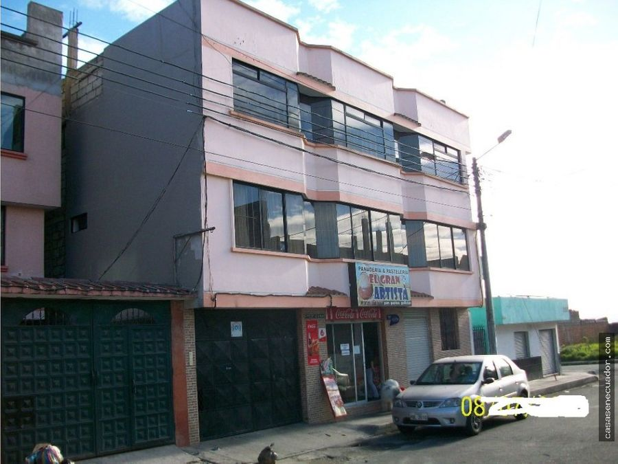 vendo casa de 10 departamentos en quito ecuador
