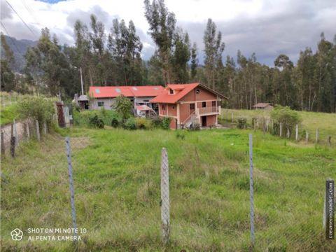 vendo casa con terreno 1425 mts el carmen de sinincay 91000 neg