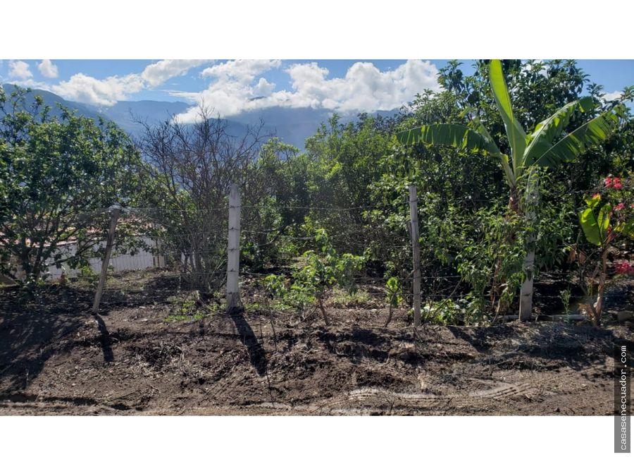 vendo terreno con media agua en santa isabel 46000 neg