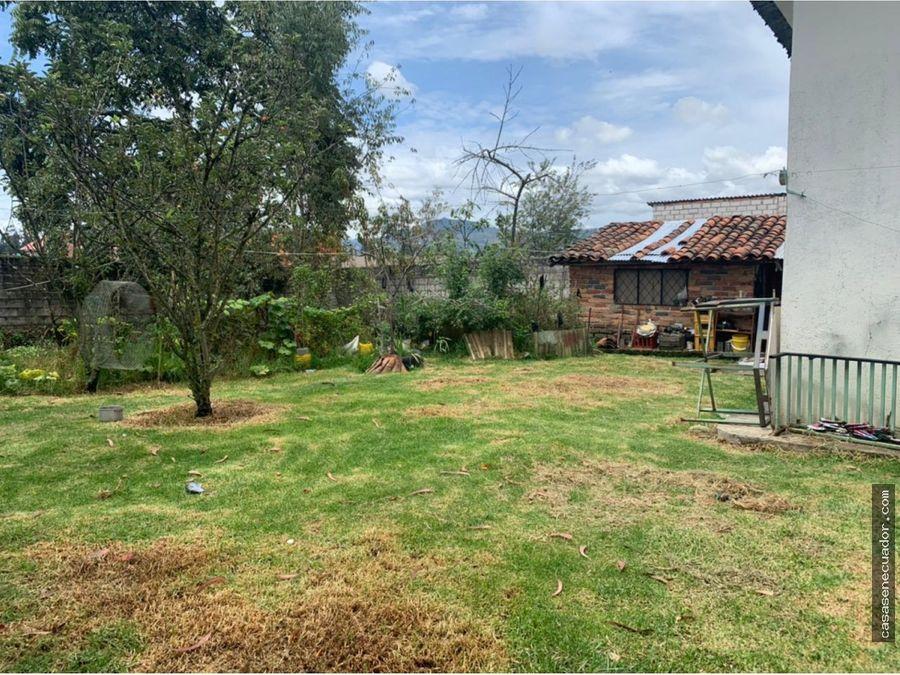 vendo casa con amplio terreno sector la compania 215000 neg