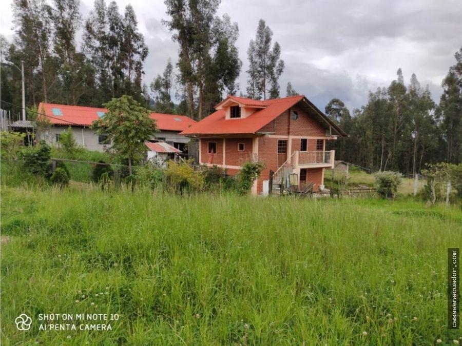 vendo casa con terreno 1425 mts el carmen de sinincay 94000 neg