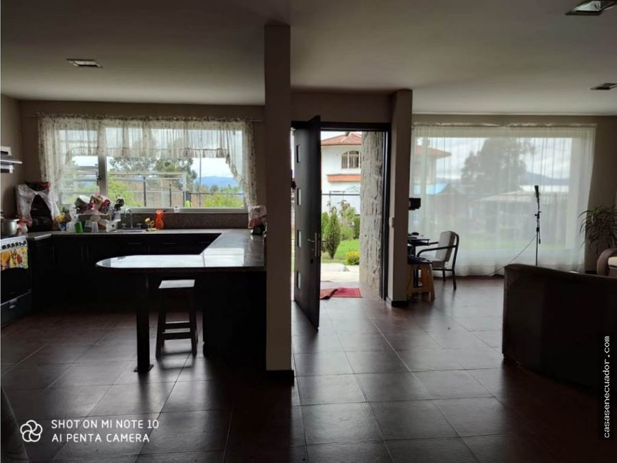 vendo hermosa casa conterreno en yanaturo 164000