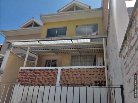 vendo casa en totoracocha en urb privada 120000 neg