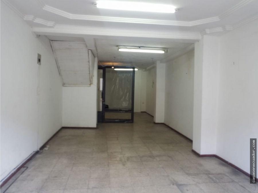 rento local comercial sector centro de cuenca 450 mensuales