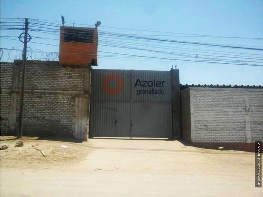 terreno industrial villa el salvador