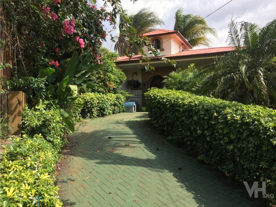 venta casa lujo 1 planta san isidro heredia 450000 vhp clv274