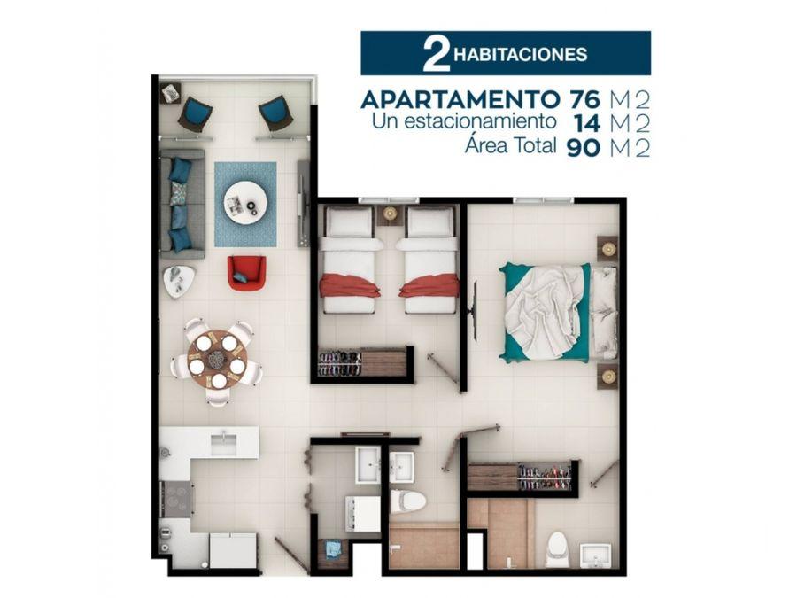 se vende apartamento amueblado en altamira heredia vhp at304