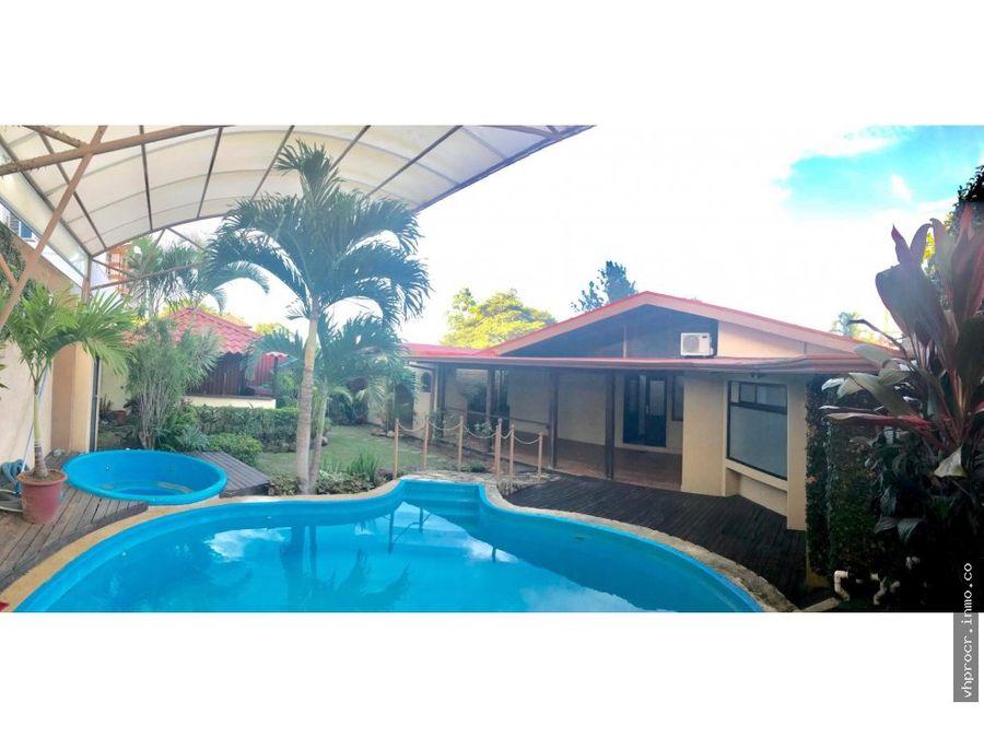 venta casa escazu 645000 amueblada calle del country vhp cv222