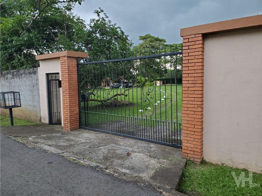 venta quinta con piscina 350000 la garita alajuela vhp qv809