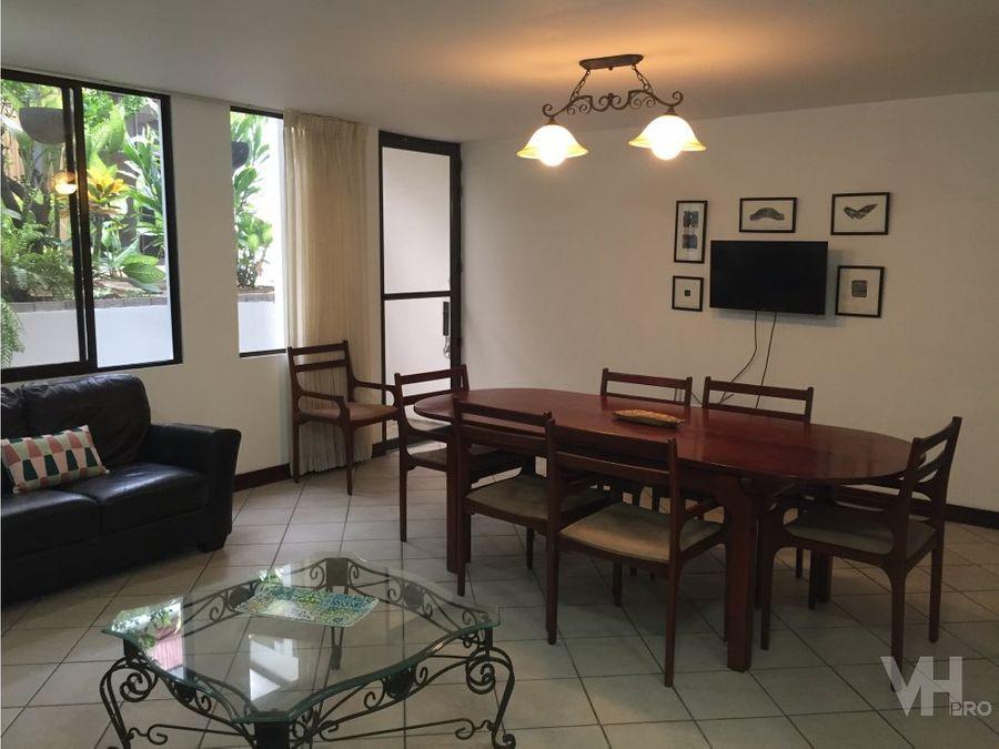 alquiler apartamento 1 planta amuebado pops sabana 1000 vhp aa524