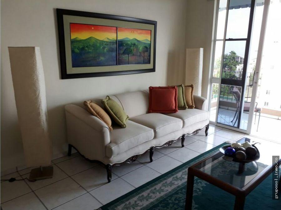 apartamento amueblado en alquiler col escalon