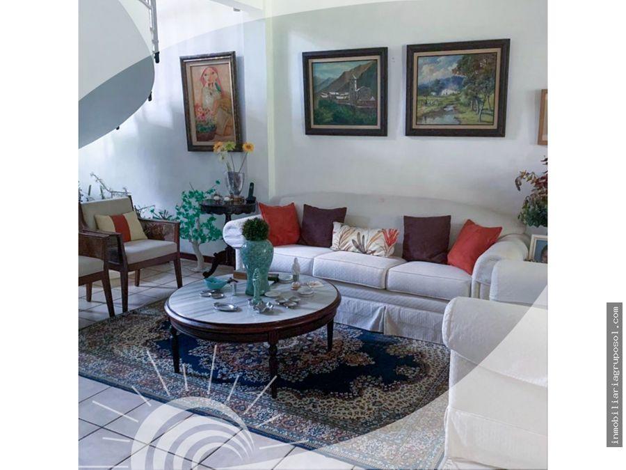 preciosa casa en venta en residencial ambrogi