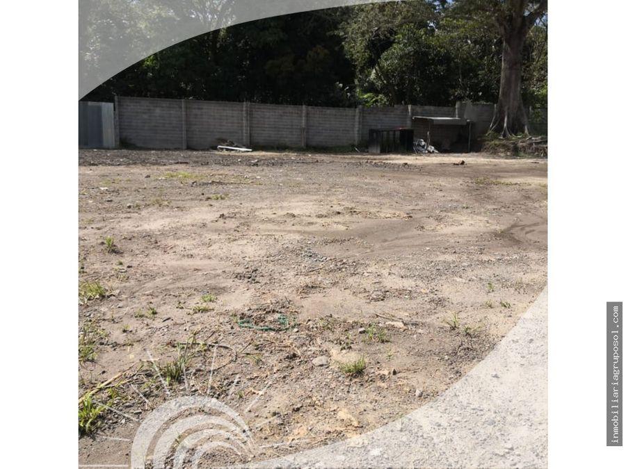 terreno para parqueo