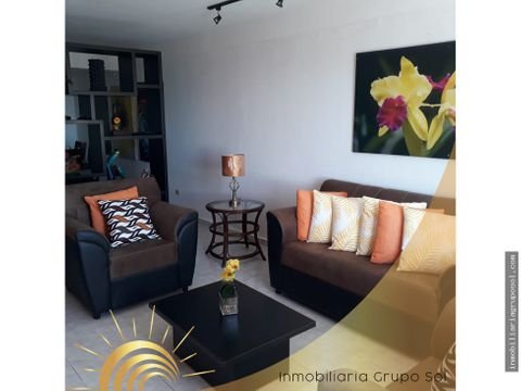 apartamento amueblado en alquiler escalon
