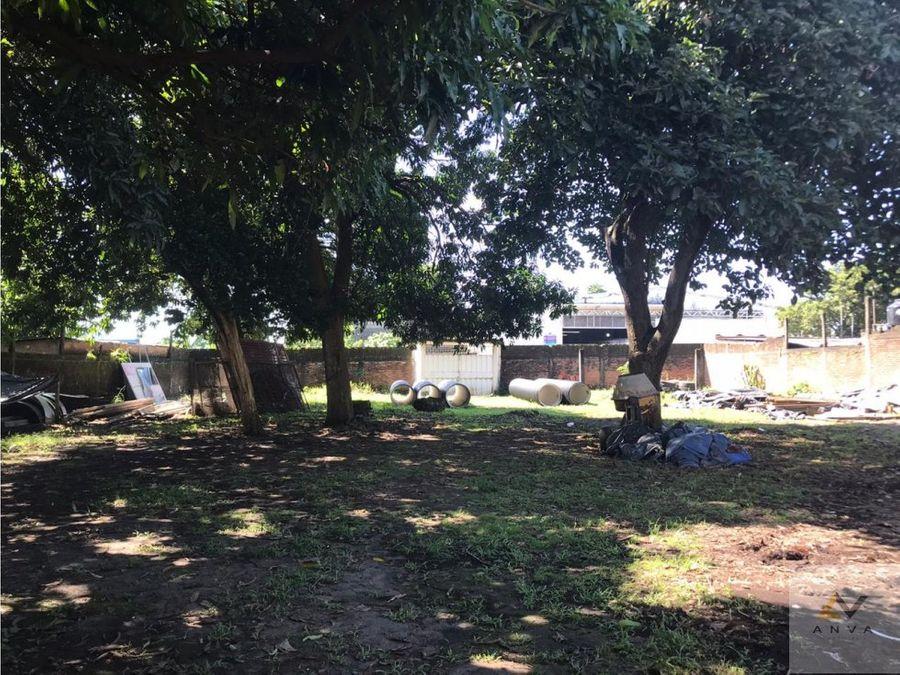 terreno en venta entre 45 y 47 poniente tapachula chiapas