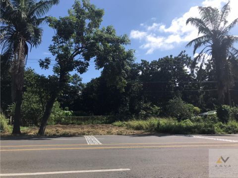 terreno en venta sobre carretera a puerto madero tapachula chiapas