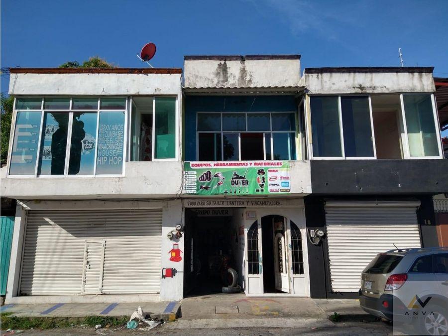 propiedad comercial en venta en zona centro de tapachula