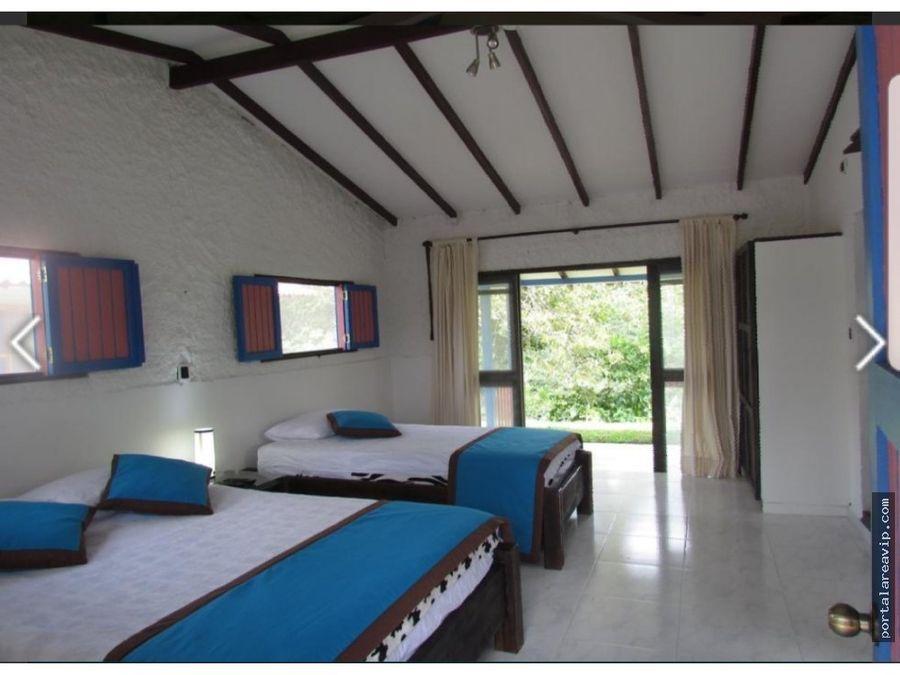venta hermosa finca hotel montenegro