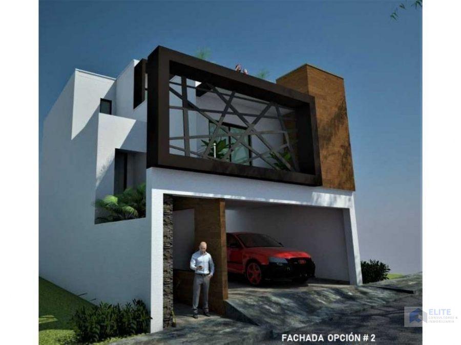 venta de casa en cumbres santoral i