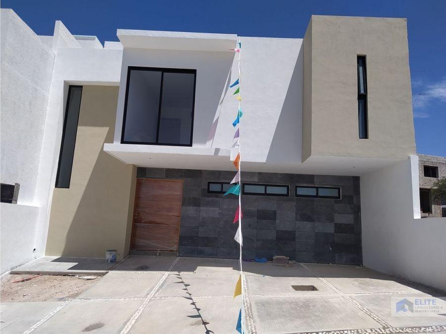 casa en venta en lomas de juriquilla