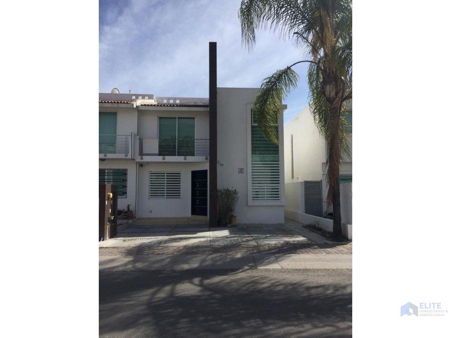 venta de casa en el refugio residencial recamara en pb