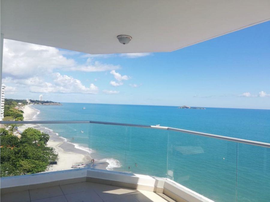 hermoso apartamento en la playa