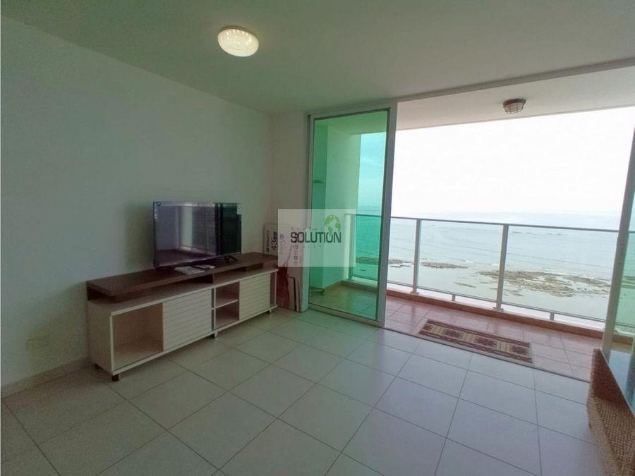 hermoso apartamento con vista al mar