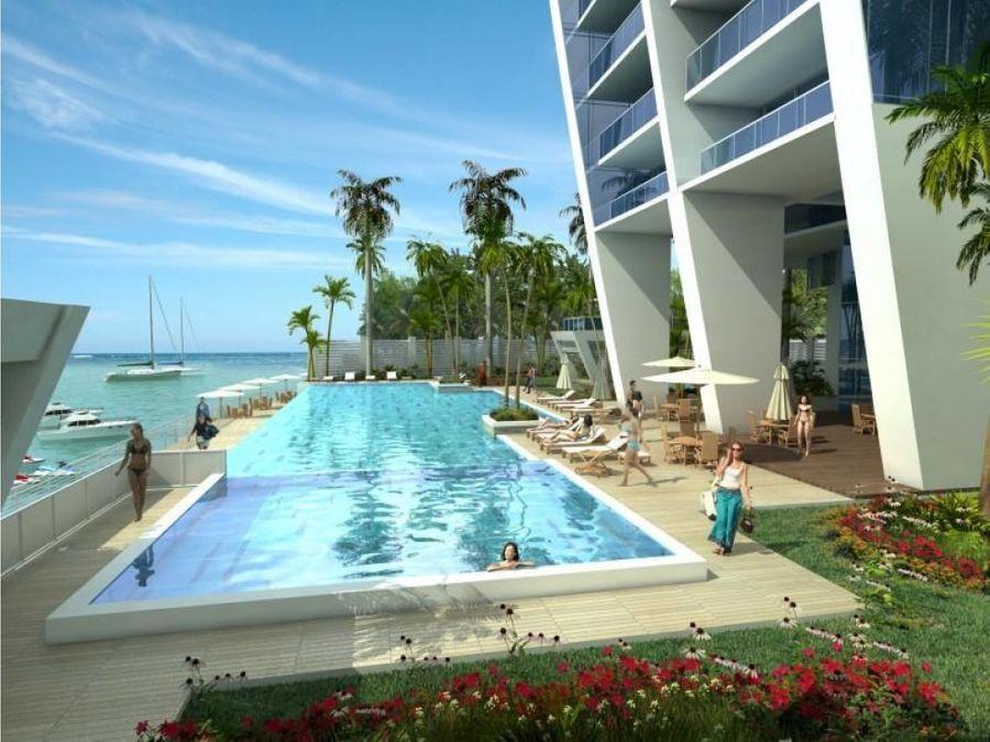 se alquila apartamento amoblado ph grand tower con vista al mar