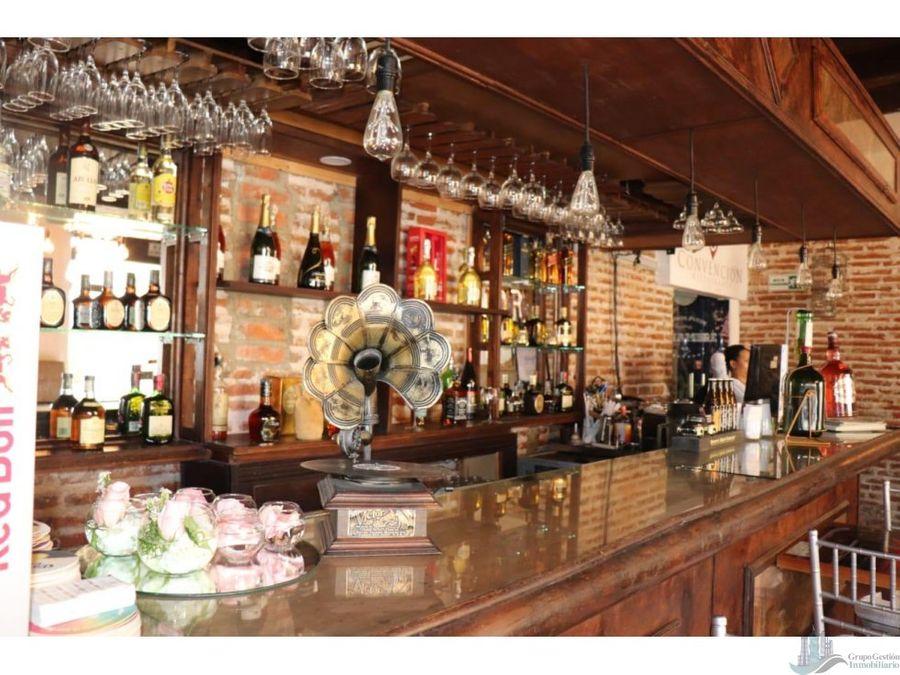 restaurante en cartagena gran oportunidad