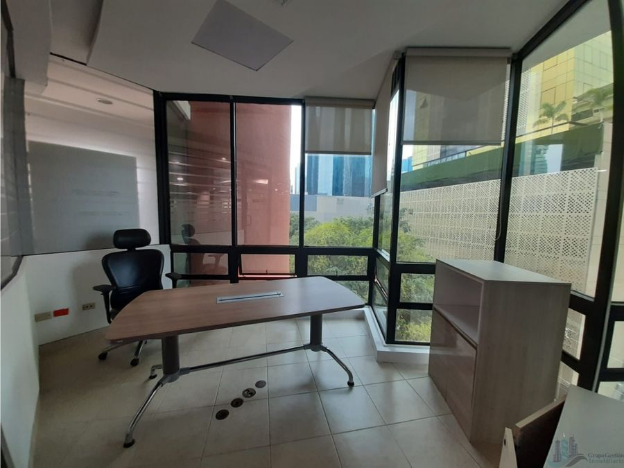 oficina remodelada y equipada 715 m2 plaza globus samuel lewis