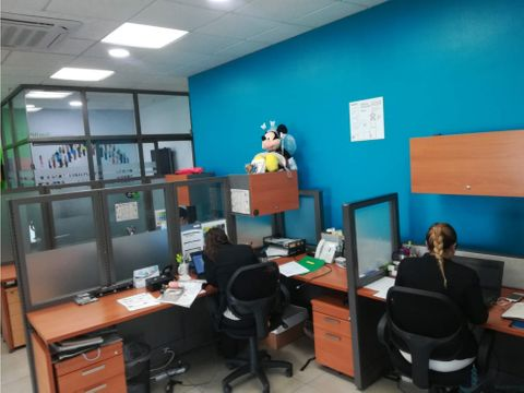 oficina en costa del este amoblada 4 estac 1 dep capital plaza
