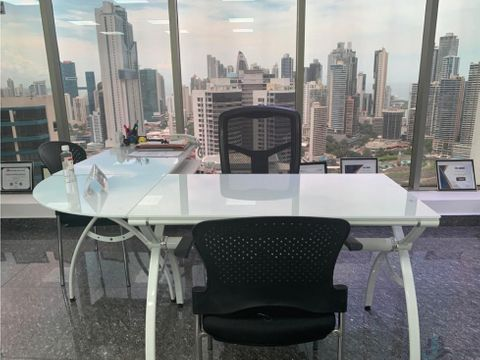 oficina full amoblada en torre bicsa av balboa