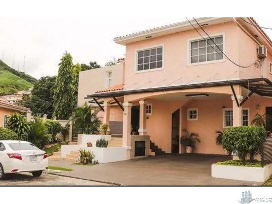 se vende hermosa casa amoblada y super remodelada con 768m2