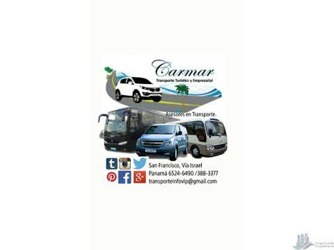 carmar transporte turistico y empresarial