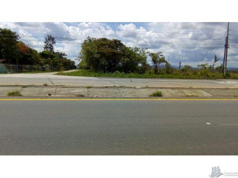 vendo 21 hectareas frente a carretera interamericana cocle