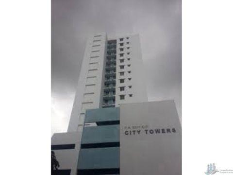 apartamento en ph city tower 2rec amoblado