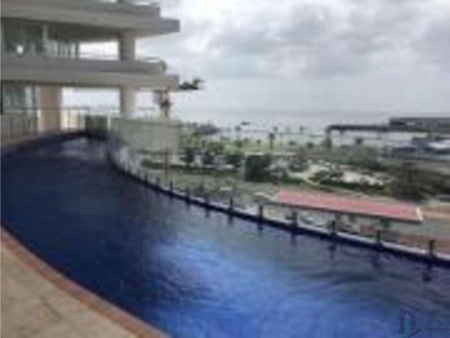 se alquila apartamento amoblado frente a la cita costera 72 m2