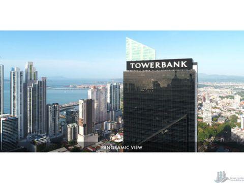 oficina amoblada towerbank todo incluido