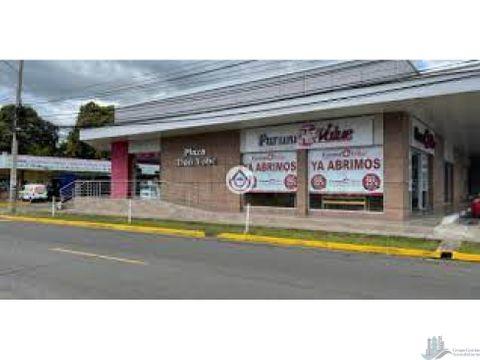 vendo edificio de locales comerciales en el area bancaria david