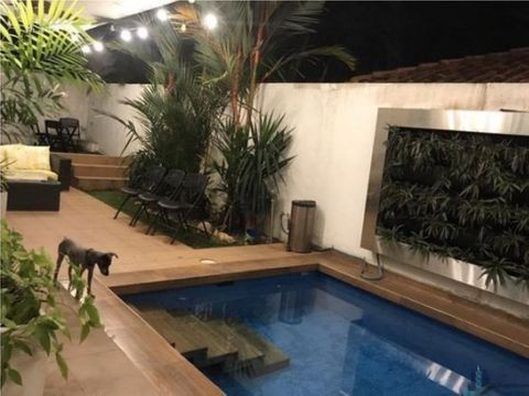 casa con piscina san francisco altos del golf