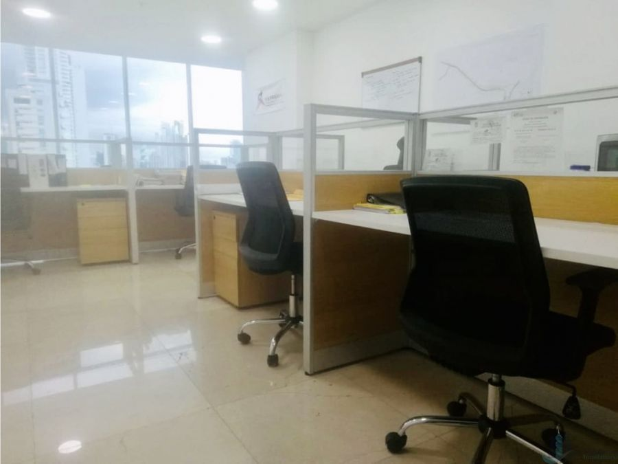 oficina amoblada ph balboa office center