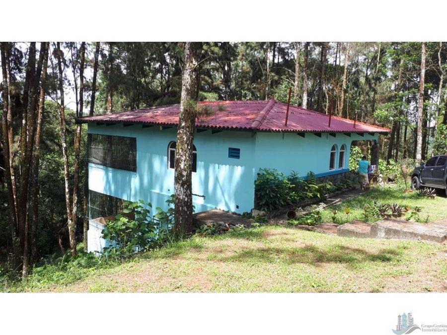 casa en el pinar cerro azul 1372m2 3 recamaras