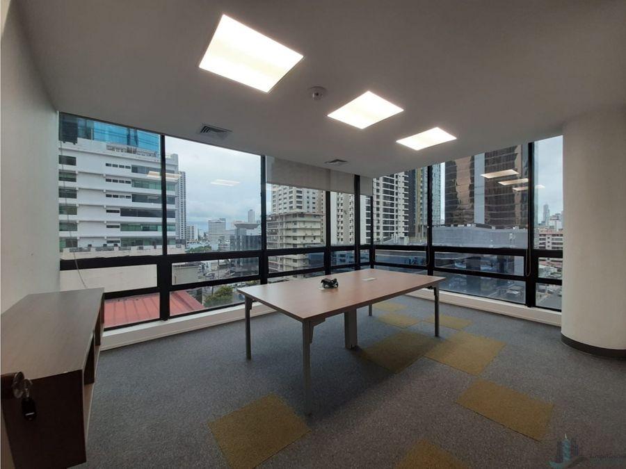 oficina remodelada y equipada 260 m2 en plaza globus av samuel lewis