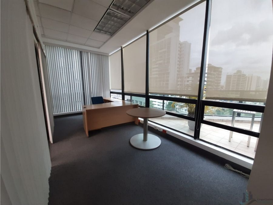 oficina equipada 440 m2 con terrazaplaza globus samuel lewis