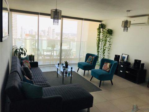 apartamento amoblado san francisco ph terrawind