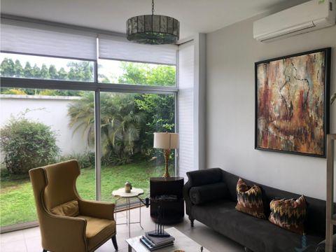 casa modelo 3 rec alquilerventa en residencial costa sur village aves