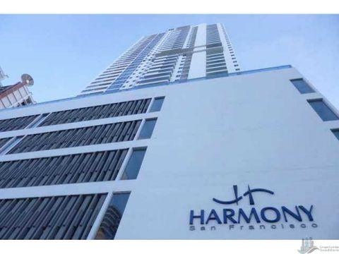 venta de apartamento amoblado en san francisco ph harmony