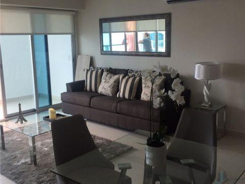 apartamento amoblado 2rec en costa del este ph parkside